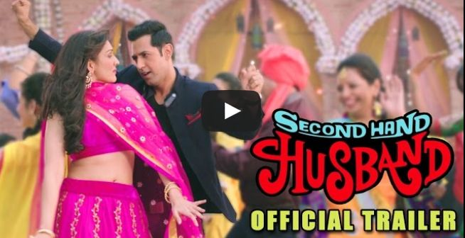 Second Hand Husband Trailer. Gippy Grewal Back with his debute hindi movie Second Hand Husband 2015. Gippy Grewal, Tina Ahuja, Dharamendra, Geeta Basra, Sanjay Mishra, Ravi Kishan, Mukesh Tiwari. Music by Badshah, Jatinder Shah & Dr Zeus. Punjabimeo.com