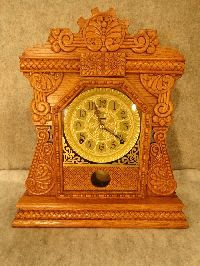 "THIS IS A ""CABINET C"" MADE BY THE INGRAHAM CLOCK CO. IN  BRISTOL, CT. CIRCA 1900."