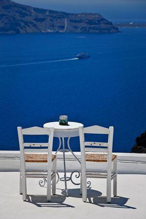 Table for 2 - Firostefani, Santorini