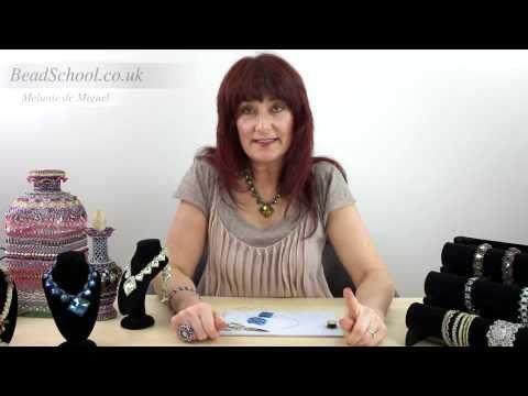 Beadschool Tutorial - Tips & Tricks: The Weaver's Knot - YouTube