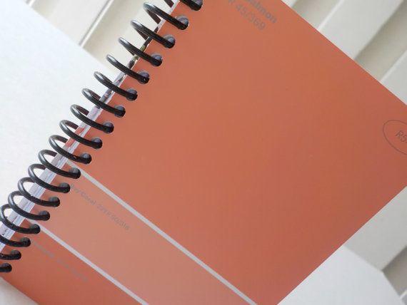 Best Handmade Paint Sample Card Notebooks Images On