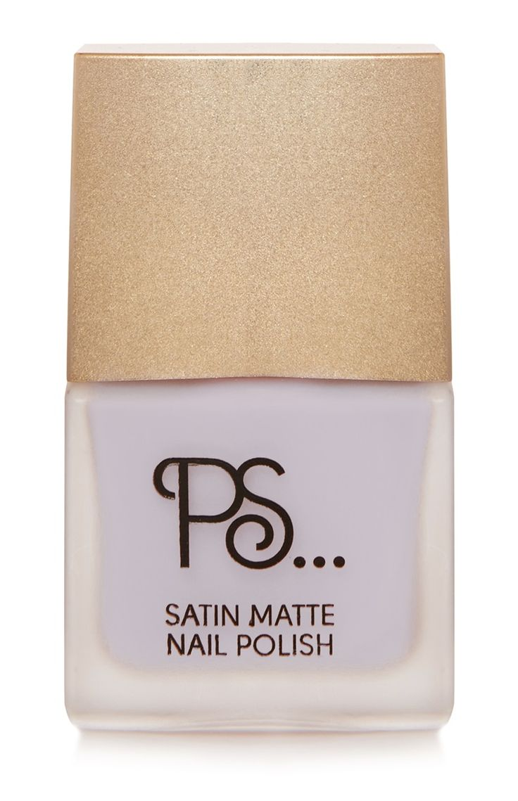 Primark - PS Satin Matte Lilac Nail Polish