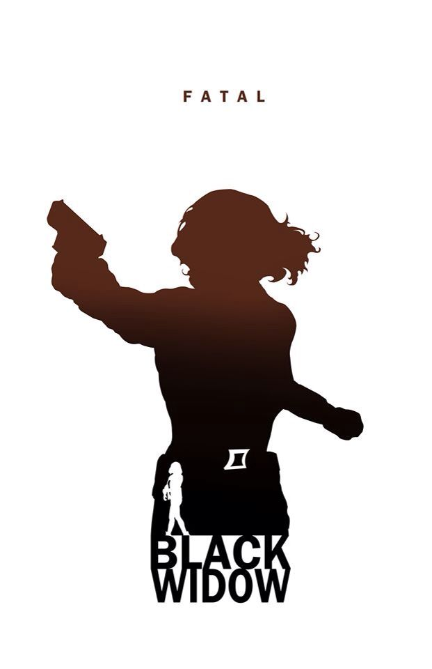 Black Widow - Fatal by Steve Garcia | Comic Silhouette ...