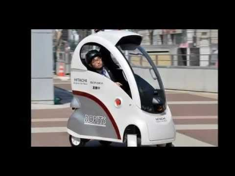 Japanese company Hitachi today revealed its new Robot car for Personal Intelligent Transport System (Ropits, for short)  called Ropits.  The one man mobility robot car Ropits by Hitachi can pick-up and drop off a passenger autonomously.