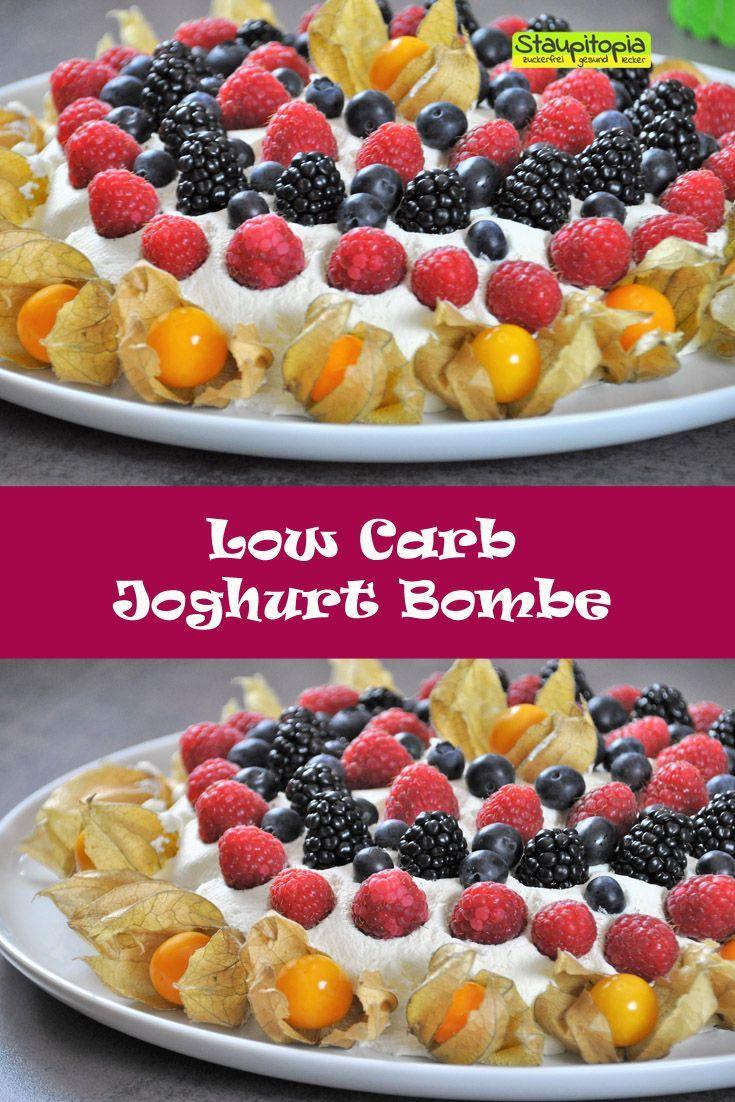 Ich verrate euch, wie ihr diese leckere Low Carb Joghurt Bombe zubereiten könnt! Natürlich kommt dieses Low Carb Dessert ohne Zucker aus und ist super schnell zubereitet!
