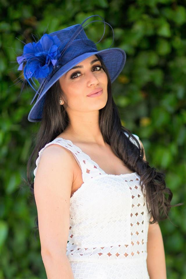 Royal Blue Derby Hat  #bellorahats #belloraboutique
