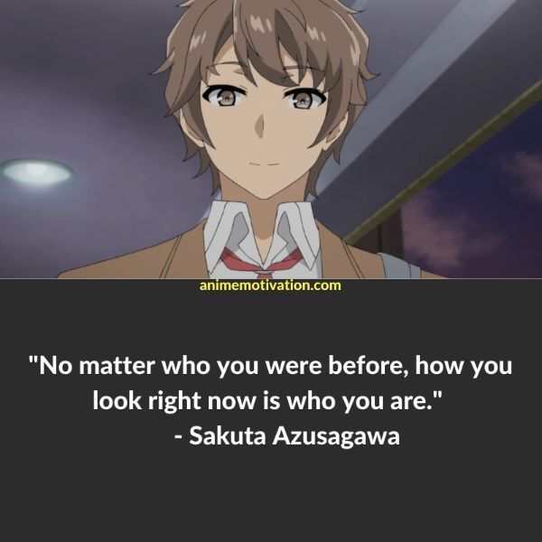 12 Of The Greatest Bunny Girl Senpai Quotes Anime Quotes Inspirational Bunny Girl New Year Motivational Quotes