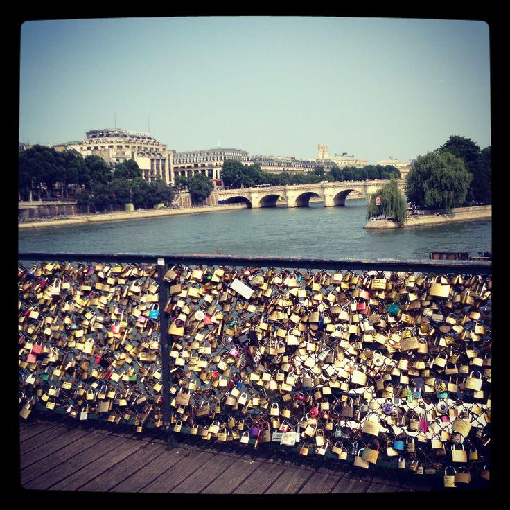 Padlock Bridge, Paris, France