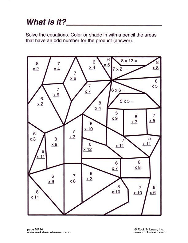 Fun Math Worksheet Free In 2020 With Images Fun Math