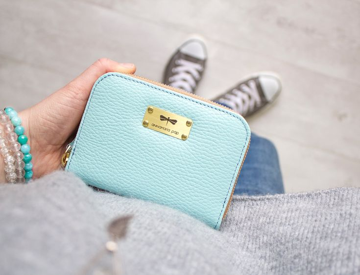 VICKY leather wallet