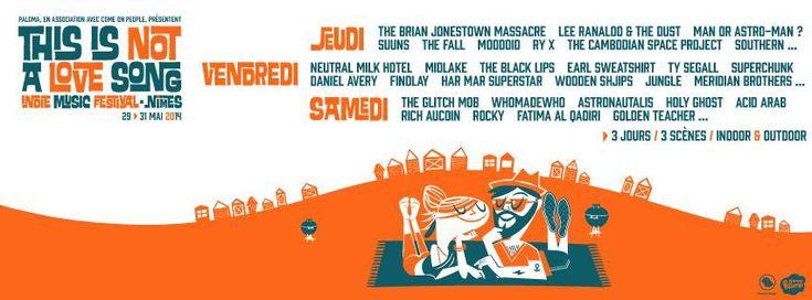 This Is Not A Love Song Festival (TINALS) : Rock indé & électro !