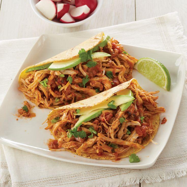 Slow-Cooker Salsa Chicken | MyRecipes