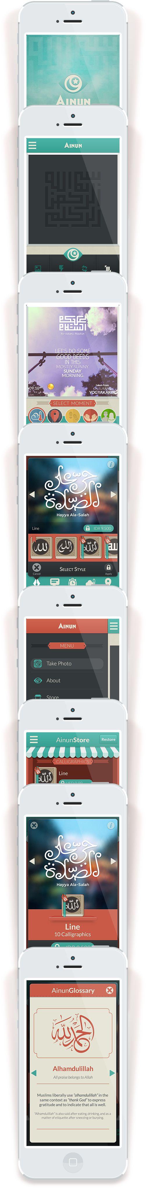 Ainun App on Behance