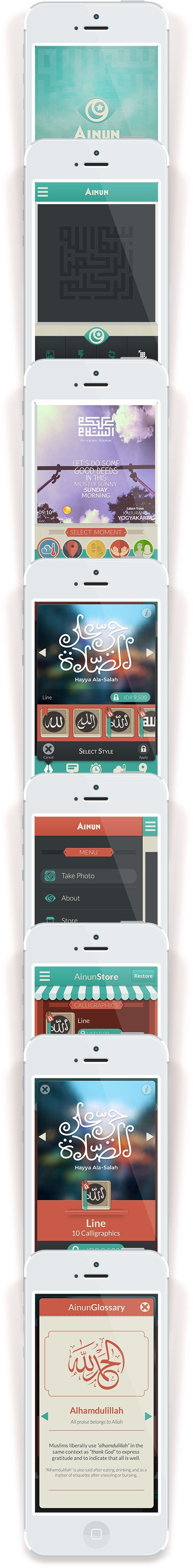 Ainun App on Behance