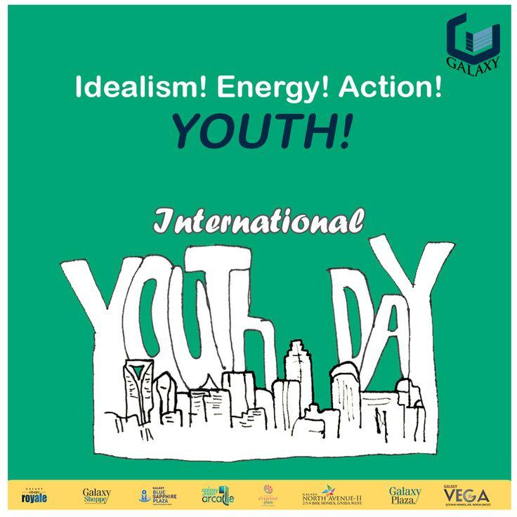 #galaxygroup #internationalyouthday #youths #youthofindia #youthicon #youthinspiration #newgeneration Creating a better world!