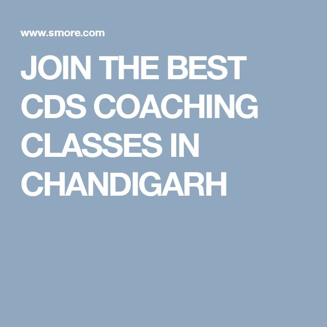 JOIN THE BEST CDS COACHING CLASSES IN CHANDIGARH
