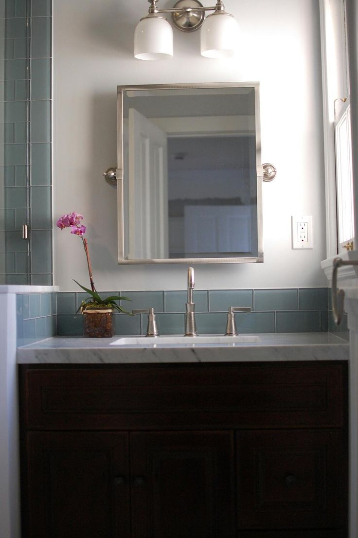 66 best coastal bathroom images on pinterest bathroom ideas bathroom epic bathroom decoration ideas using glass tile and black vanity with mirror and blue grey and white wall
