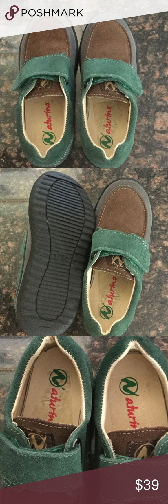 🐶🐰Naturino Kids Shoes 👠 Naturino Kids Suede Loafers EUROPEAN Sz29 Excellent Like New. Never been worn . See pictures for more details Naturino Shoes Dress Shoes
