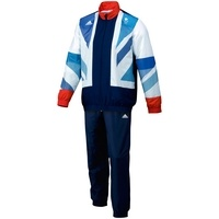 Adidas Team GB Replica Men's Presentation Suit, White  £90.00    John Lewis    The most iconic piece of clothing at any Olympic Games is the tracksuit worn by victorious athletes stepping on to the podium to collect their medals.