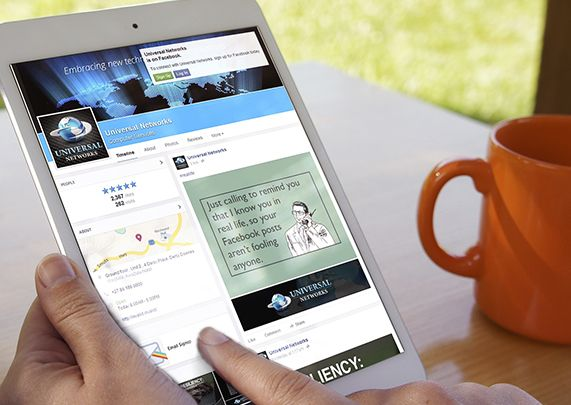 Social Media Portfolio - Universal Networks