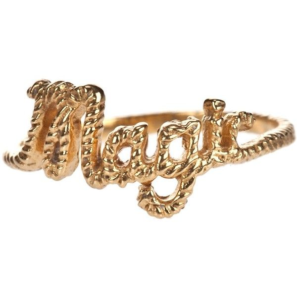 ZOE AND MORGAN 'Magic' ring found