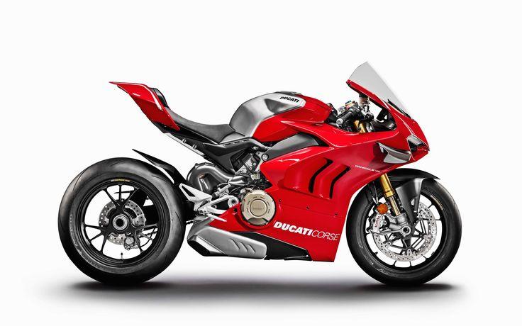 4k, Ducati Panigale V4 R, side view, 2019 bikes, sportsbikes, italian motorcycle…