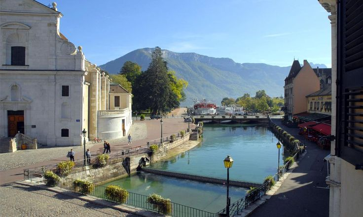 Hotel du Palais de L'Isle in Annecy, France #hotel #annecy #lakeview