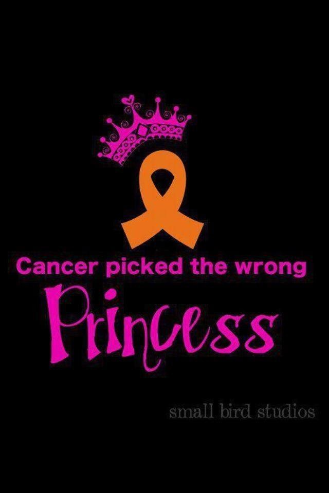 Leukemia Awareness ribbon but still love the message