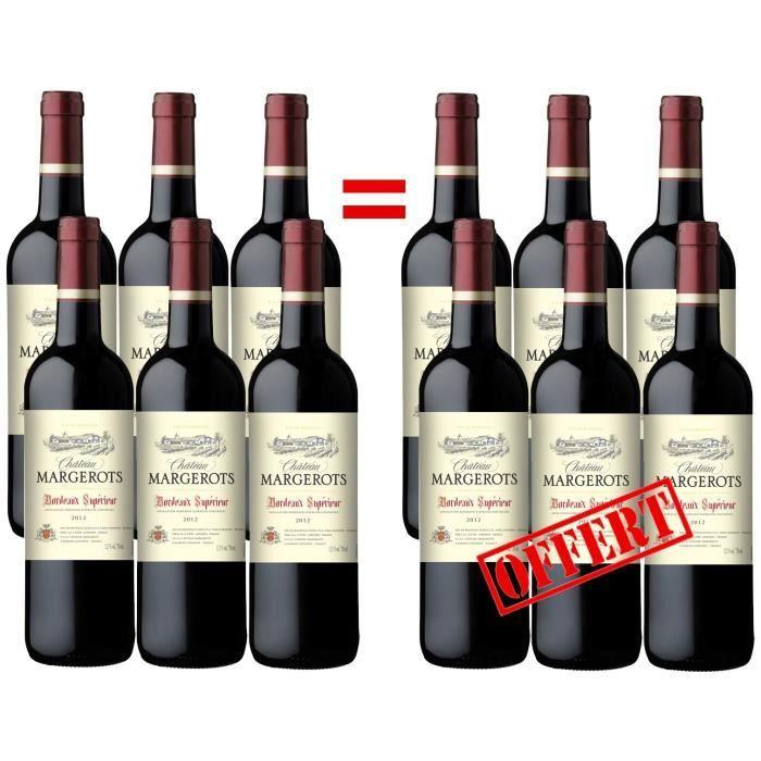 35.99 € ❤ #BonPlan côté #Vins - Château Margerots - #AOC #Bordeaux Supérieur 2012 - #Vin rouge ➡ https://ad.zanox.com/ppc/?28290640C84663587&ulp=[[http://www.cdiscount.com/vin-champagne/vin-rouge/chateau-margerots-bordeaux-superieur-2012-vin/f-129330101-margerots12c12.html?refer=zanoxpb&cid=affil&cm_mmc=zanoxpb-_-userid]]