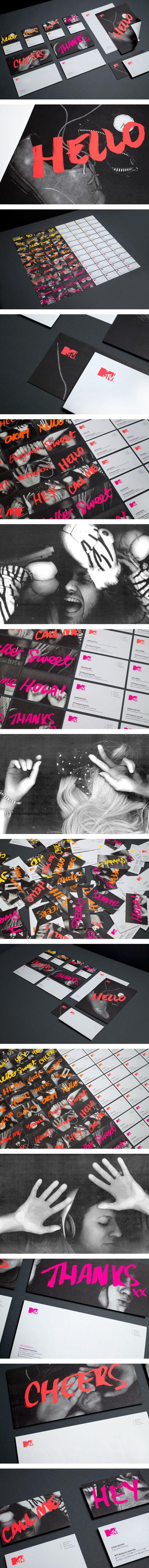 MTV Branding on Behance | Fivestar Branding – Design and Branding Agency & Inspiration Gallery