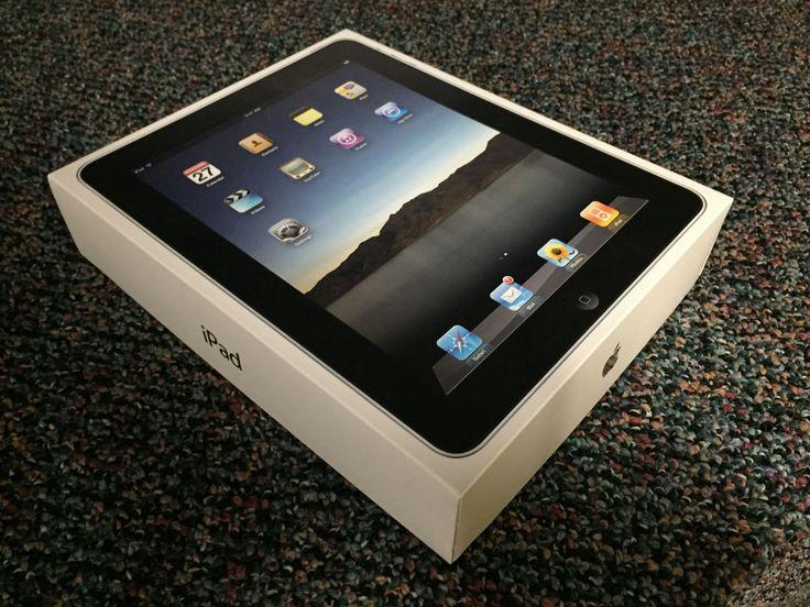 """Apple iPad 32GB WiFi Tablet 1st Generation A1219 MB293LL/A iOS Black 9.7"""" LCD #Apple"""