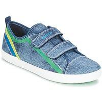 Zapatos Niño Zapatillas bajas Geox J KILWI B. A Denim / Verde