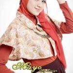 Gambar Baju Muslim Jersey Motif wanita