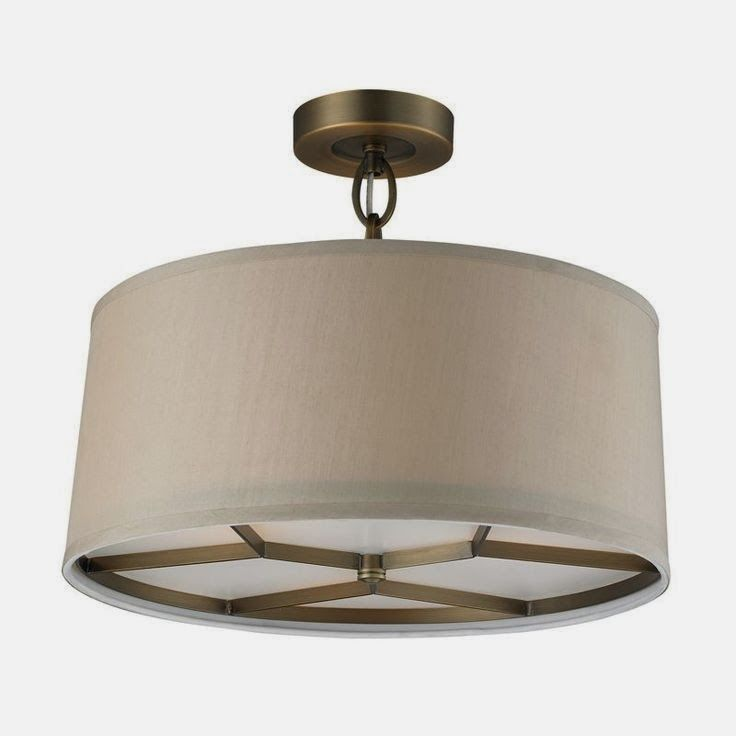 Baxter semi flushmount by elk lighting
