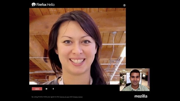 Firefox 35 includes the new Hello video-calling feature, which was first introduced in beta last year.