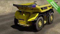 Машины-монстры: Первый в мире грузовой автомобиль-робот у которого полностью отсутствует водительская кабина