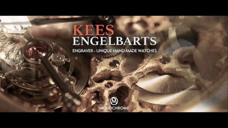 Kees Engelbarts - Dutch Hand-Engraver and Watchmaker