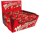 A bulk box of 50 A Little Bit of Maltesers packs.