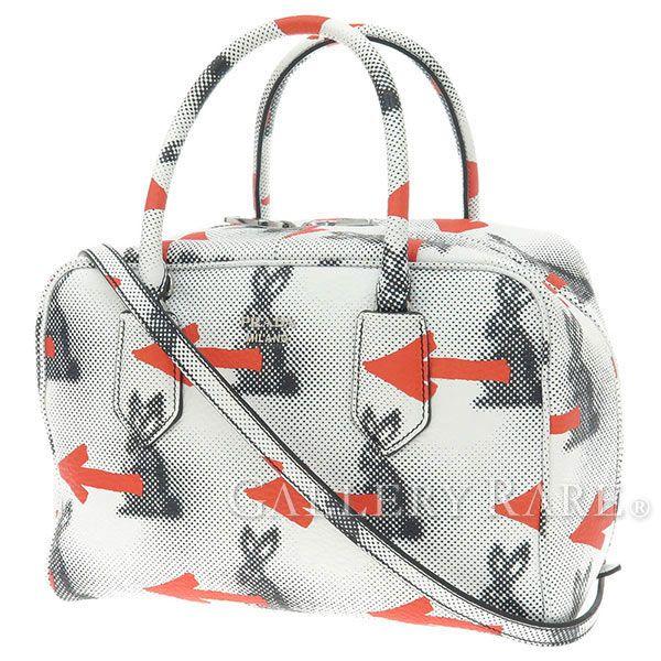 プラダ ハンドバッグ インサイドバッグ 2wayショルダーバッグ ラビット Rabbits 1BB010 PRADA バッグ