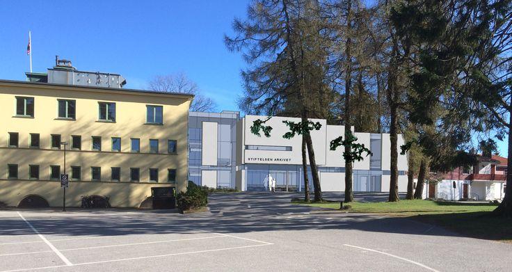 Arkivet Kristiansand. Arkitekt: Janicke Jebsen Vinje og Ark-Net AS