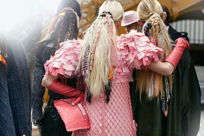 Love the Chanel Hair FW14-15