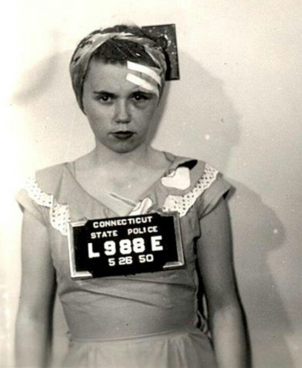 Best Mugshots Images On Pinterest History Sweet And Buttons - 15 vintage bad girl mugshots from between the 1940s and 1960s