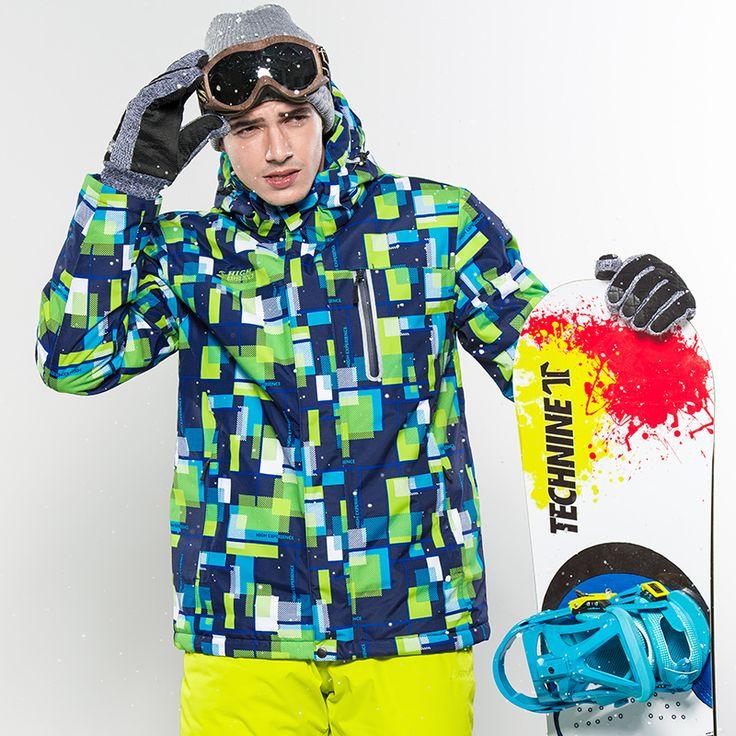 2016 Winter Sport Clothes For Man Ski Jacket Men Windproof Waterproof Jackets Snow Coat Mountain Jacket warm Cotton Padded