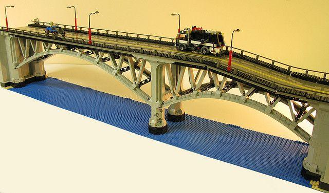 Dave DeGobbi - Lego bridge
