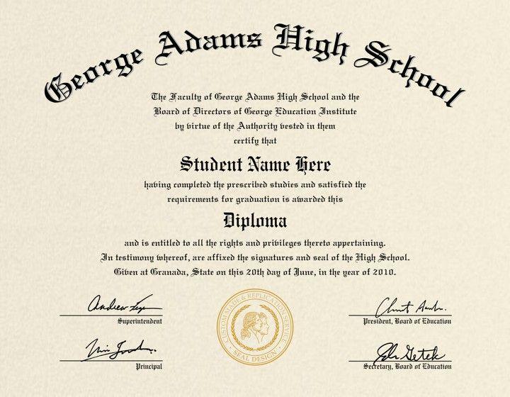 Free Printable College Diploma Fake Diploma Fake Degrees Or