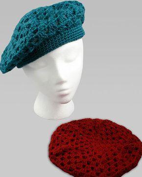 Free Knitting Pattern Simple Beret : Best 25+ Crochet beret pattern ideas on Pinterest ...