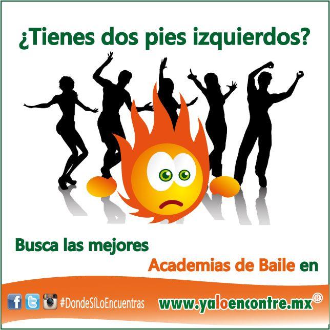 #Servicios #AcademiasDeBaile #Bailando Entra a: www.yaloencontre.mx