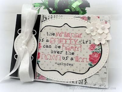 La-La Land Crafts Inspiration and Tutorial Blog: Tutorial Thursday - Greeting Card and Holder Set by Sandie Dunne  http://lalalandcrafts.blogspot.ie/2015/05/tutorial-thursday-greeting-card-and.html