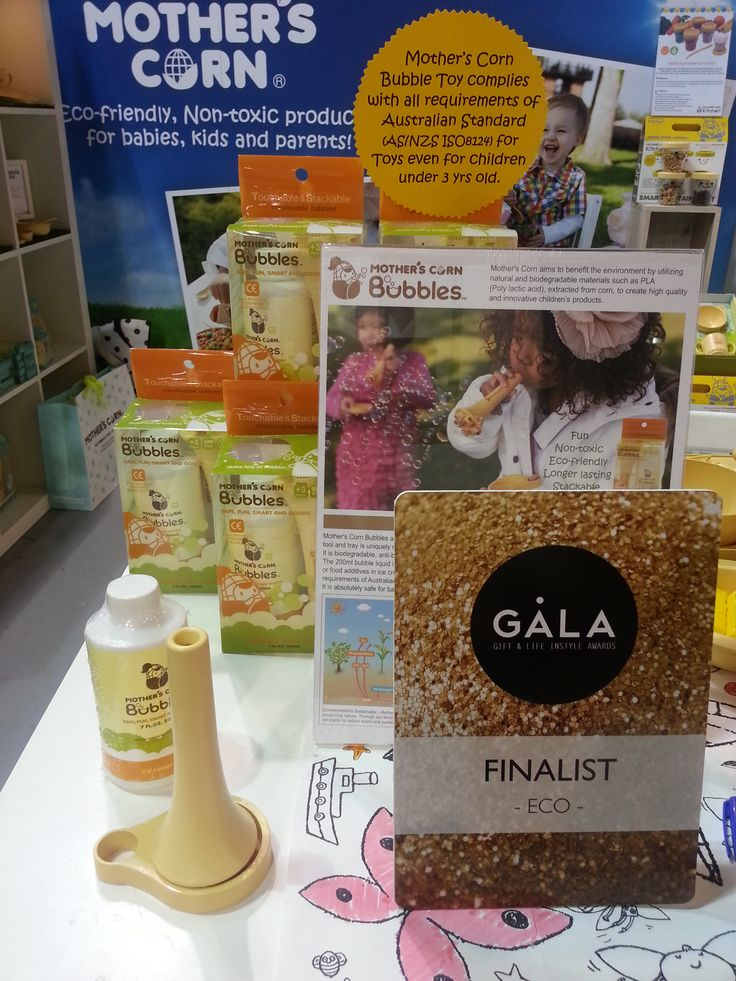 Mother's Corn Bubbles is definitely the Wow product for children! It is natural, non-toxic, eco-friendly bubble blowing toy!! Finalist at GALA awards 2014.