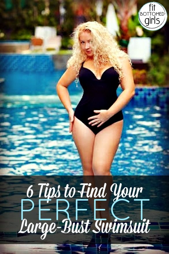 Have a big bust and have problems finding a swimsuit that fits? Follow our tips for finding your perfect large bust swimwear!